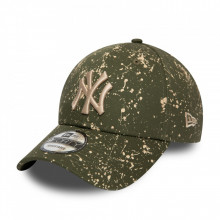 New Era 9forty Paninted New York Yankees Kappe in Olivgrün