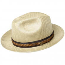 Palarie Bailey of Hollywood Bevers Panama Fedora Sand