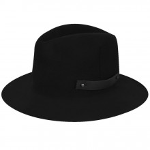 Palarie Bailey of Hollywood Boley Fedora Negru