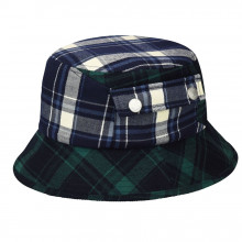 Palarie Kangol Plaid On Plaid Bucket Multicolor