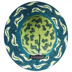 Palarie Kangol Wave Camo Bucket Verde 5