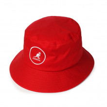 Palarie rosie Kangol Cotton Bucket 3