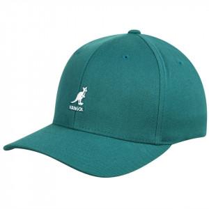 Sapca Kangol Wool Flexfit Baseball Verde