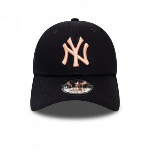 Sapca New Era 9forty Basic New York Yankees Bleumarin-Roz 2