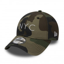 Sapca New Era Essential 9Forty NYC Strapback Camo