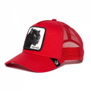 Goorin Bros Trucker Cap Black Panther, Rot