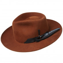 Palarie Bailey of Hollywood Barksdale Fedora Rust