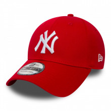 Sapca New Era 39thirty Basic New York Yankees Rosu