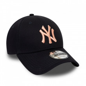 Sapca New Era 9forty Basic New York Yankees Bleumarin-Roz 3