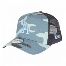 Sapca New Era Camo Essential Trucker Los Angeles Dodgers