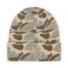 Caciula New Era New York Yankees Camo Knit Cuff STC
