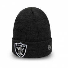 Caciula New Era Oakland Raiders Essential Heather Knit Cuff