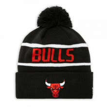 Caciula New Era Striped Cuff Bobble Knit Chicago Bulls
