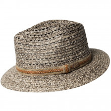 Palarie Bailey of Hollywood Garrell Braided Fedora Cocoa