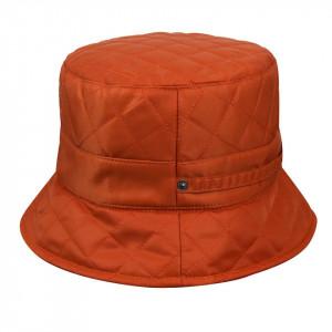 Palarie-Betmar-quilted-rain-bucket-portocaliu-3