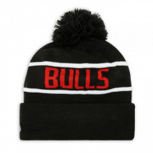 Caciula New Era Striped Cuff Bobble Knit Chicago Bulls 2
