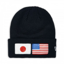 Caciula New Era USA Flag Knit Negru