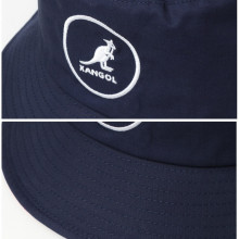 Palarie albastra Kangol Cotton Bucket 5