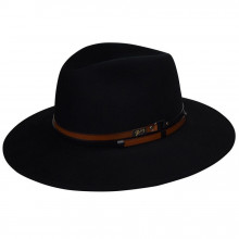 Palarie Bailey of Hollywood Stedman Elite Velour Fedora Negru
