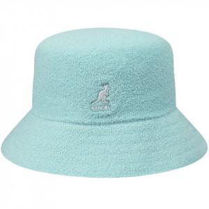 Palarie Kangol Bermuda Bucket Albastru Deschis