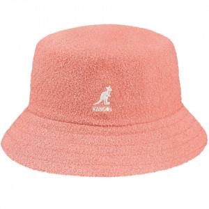 Palarie Kangol Bermuda Bucket Peach Pink
