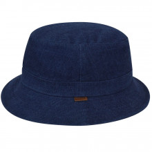 Palarie Kangol Quilted Denim Hunter Indigo