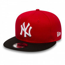 Sapca New Era 9fifty NY Cotton Rosu-Negru