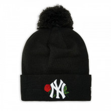 Caciula New Era Bobble Knit Twine NY Yankees Negru