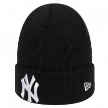 Caciula New Era League Essential Cuff New York Yankees Negru