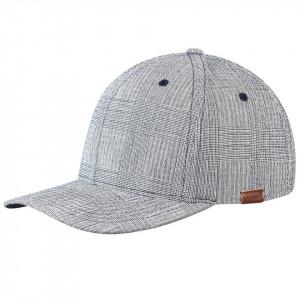 Sapca Kango Pattern Flexfit Baseball Check Navy 2