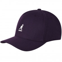 Sapca Kangol Wool Flexfit Baseball Blackberry