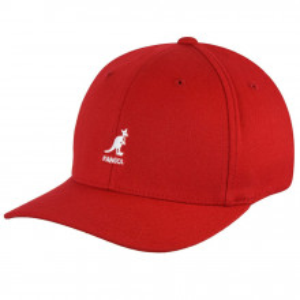 Sapca Kangol Wool Flexfit Baseball Rosu