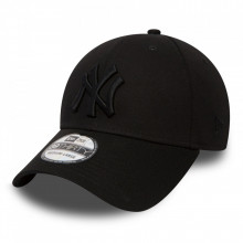 Sapca New Era 39thirty Basic New York Yankees Allblack