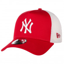 Sapca New Era Trucker New York Yankees Rosu