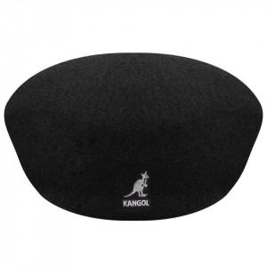Basca Kangol Wool 504 Negru 4
