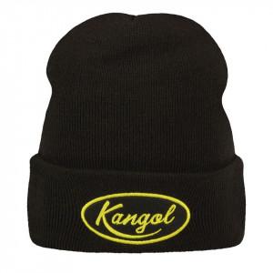Caciula Kangol Vintage Oval Logo Negru