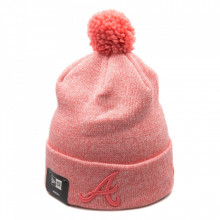Caciula New Era Essential Bobble Knit Atlanta Braves