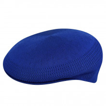 Kangol Ventair 504 Flatcap - Royalblau