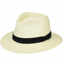 Palarie Bailey of Hollywood Brooks Panama Fedora Natural