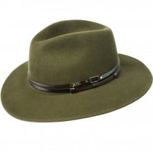 Palarie Bailey of Hollywood Stedman Elite Velour Fedora Verde