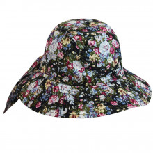 Palarie Betmar Knotted Cloche Floral