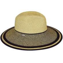 Palarie Betmar Porto Braided Wide Brim Natural