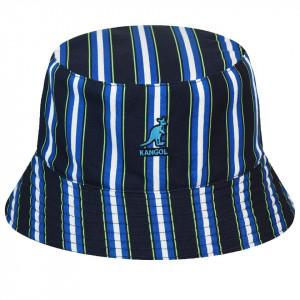 Palarie Kangol Double Pattern Bucket Bleumarin