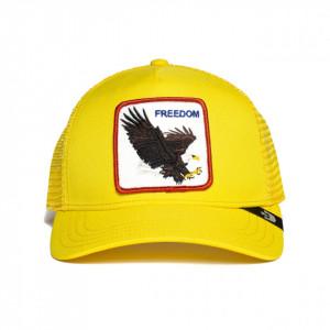 Sapca Goorin Brothers Trucker Freedom Galben Neon 2