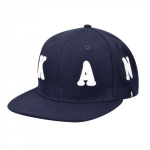 Sapca Kangol Alphabet Links Baseball, Bleumarin