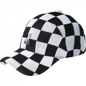 Sapca Kangol Checkered Tropic Adj Spacecap Negru