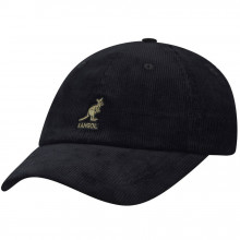 Sapca Kangol Cord Adjustable Baseball Negru