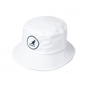 Palarie alba Kangol Cotton Bucket 3