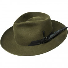 Palarie Bailey of Hollywood Barksdale Fedora Verde