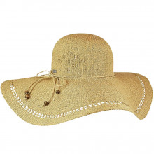 Palarie Betmar Abbey Wide Brim Honey